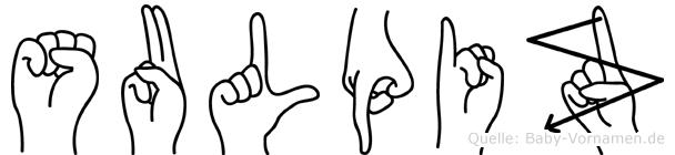 Sulpiz in Fingersprache für Gehörlose