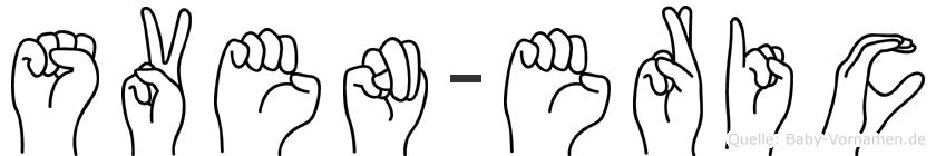 Sven-Eric im Fingeralphabet der Deutschen Gebärdensprache