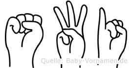 Swi in Fingersprache für Gehörlose