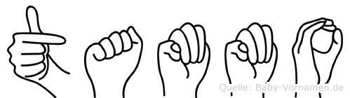 Tammo im Fingeralphabet der Deutschen Gebärdensprache