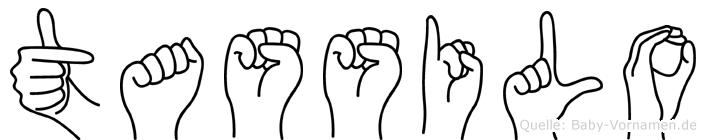Tassilo in Fingersprache für Gehörlose