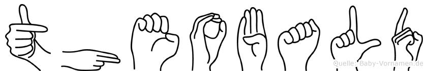Theobald in Fingersprache für Gehörlose