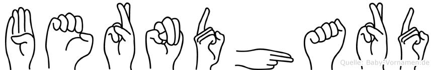 Berndhard in Fingersprache für Gehörlose