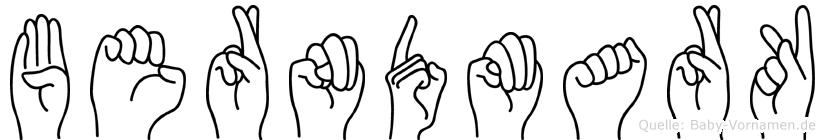 Berndmark in Fingersprache für Gehörlose