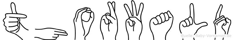 Thorwald in Fingersprache für Gehörlose