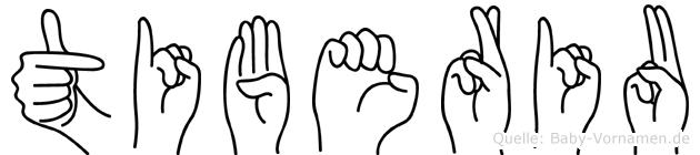 Tiberiu in Fingersprache für Gehörlose