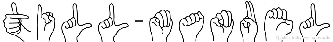 Till-Manuel im Fingeralphabet der Deutschen Gebärdensprache