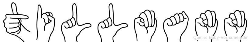 Tillmann in Fingersprache für Gehörlose