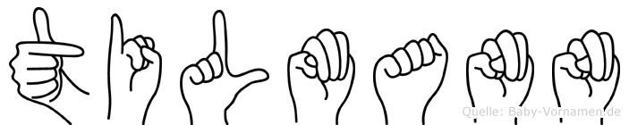 Tilmann in Fingersprache für Gehörlose