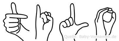 Tilo in Fingersprache für Gehörlose