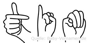 Tim in Fingersprache für Gehörlose