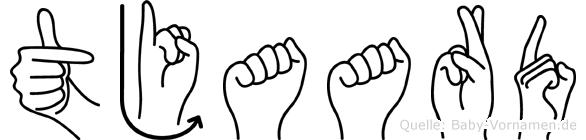Tjaard in Fingersprache für Gehörlose