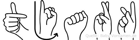 Tjark in Fingersprache für Gehörlose
