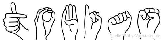 Tobias in Fingersprache für Gehörlose