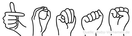 Tomas in Fingersprache für Gehörlose
