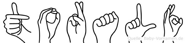 Toralf in Fingersprache für Gehörlose
