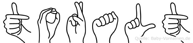 Toralt in Fingersprache für Gehörlose