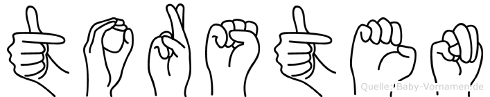 Torsten in Fingersprache für Gehörlose