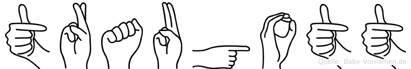 Traugott in Fingersprache für Gehörlose