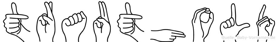 Trauthold in Fingersprache für Gehörlose