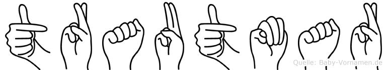 Trautmar in Fingersprache für Gehörlose