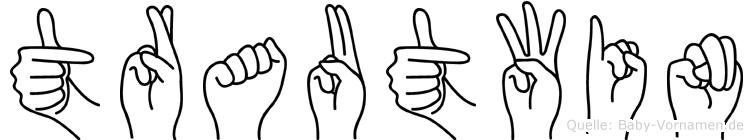 Trautwin in Fingersprache für Gehörlose