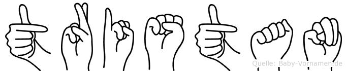 Tristan in Fingersprache für Gehörlose