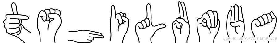 Tshilumba in Fingersprache für Gehörlose