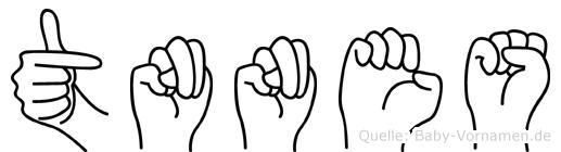 Tünnes in Fingersprache für Gehörlose