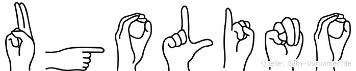 Ugolino in Fingersprache für Gehörlose