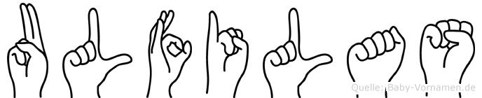 Ulfilas in Fingersprache für Gehörlose