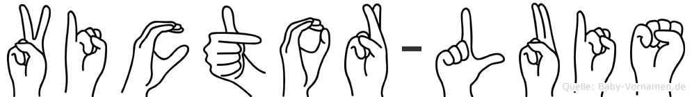 Victor-Luis im Fingeralphabet der Deutschen Gebärdensprache