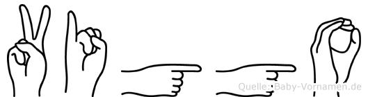 Viggo in Fingersprache für Gehörlose
