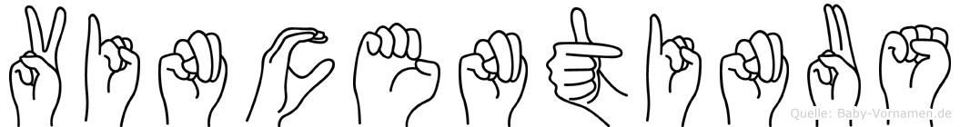 Vincentinus in Fingersprache für Gehörlose