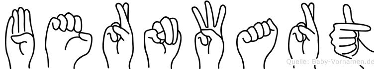 Bernwart in Fingersprache für Gehörlose