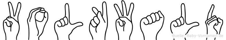Volkwald in Fingersprache für Gehörlose