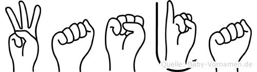 Wasja in Fingersprache für Gehörlose