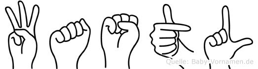 Wastl in Fingersprache für Gehörlose