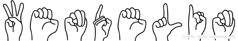 Wendelin in Fingersprache für Gehörlose
