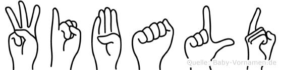 Wibald in Fingersprache für Gehörlose