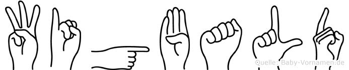 Wigbald in Fingersprache für Gehörlose