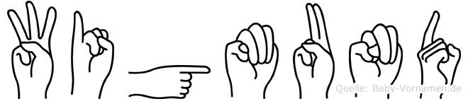 Wigmund in Fingersprache für Gehörlose