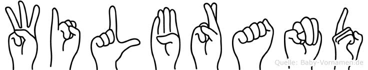 Wilbrand in Fingersprache für Gehörlose