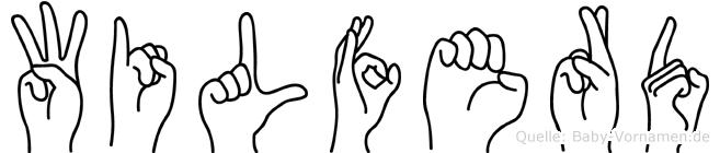 Wilferd in Fingersprache für Gehörlose
