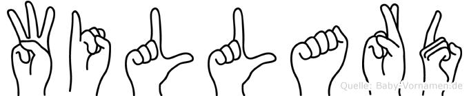 Willard in Fingersprache für Gehörlose
