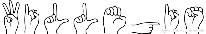 Willegis in Fingersprache für Gehörlose