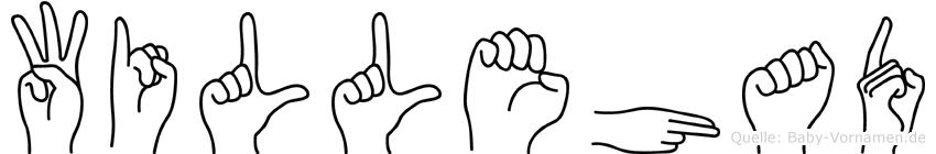 Willehad in Fingersprache für Gehörlose