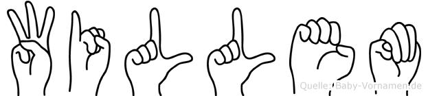 Willem in Fingersprache für Gehörlose