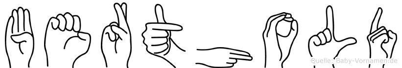 Berthold in Fingersprache für Gehörlose