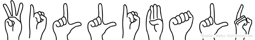 Willibald in Fingersprache für Gehörlose